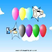 لعبة صائد البالونات 2