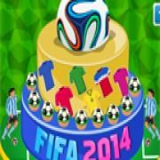 لعبة طبخ في حفلة بطل كاس العالم 2014