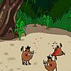 لعبة إصطياد الخنازير البرية