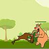لعبة الدب و الغزال