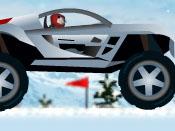 لعبة سيارات الجليد