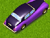 لعبة السيارة وصفائح الصلصة
