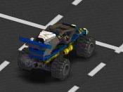 لعبة سباق سيارات ليجو