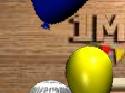 لعبة البالونات الشقيه